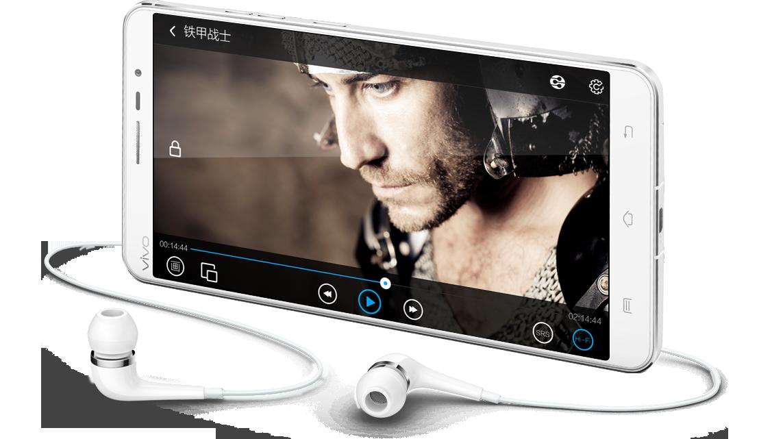 vivo Xplay3S, 震撼听觉,感受从未有过的真实音场